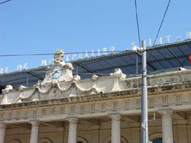 Bild: Bahnhof Montpellier