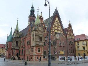Rathaus in Breslau