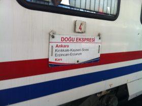 """Ankara-Kars im """"Dogu Express"""""""