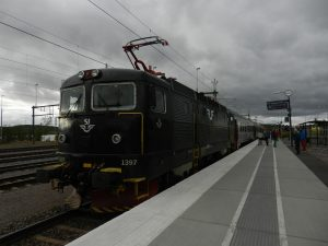 Der Arctic Polarexpress ist die bequeme Anbindung Nordskandinaviens mittels Nachtzug