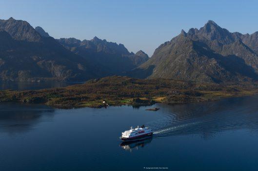 Hurtigruten Schiff MS Kong Harald