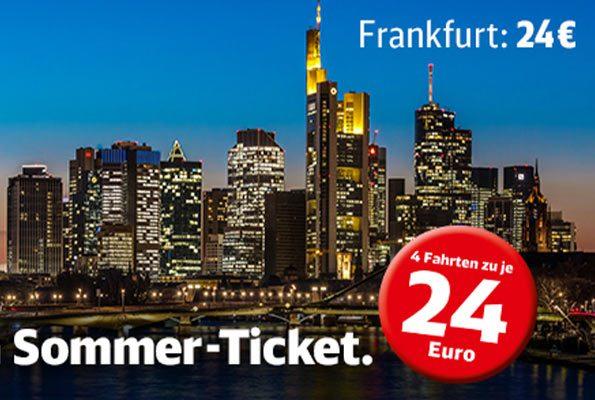 Sommer-Ticket für Junge Leute & ab 65 !