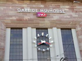 Bild:Bahnhof Mulhouse