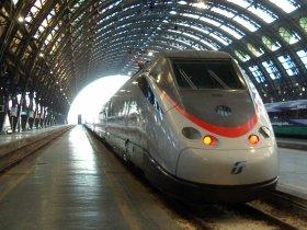 Bild: Eurostar Mailand Bahnhof