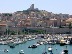 Bild: Marseille Yachthafen