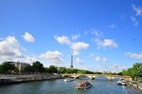 Bild: Paris Seine Sommer