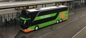Flixbus am Freiburger Busbahnhof