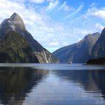 See und Berge in Neuseeland