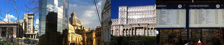Bukarest - Stadtansichten