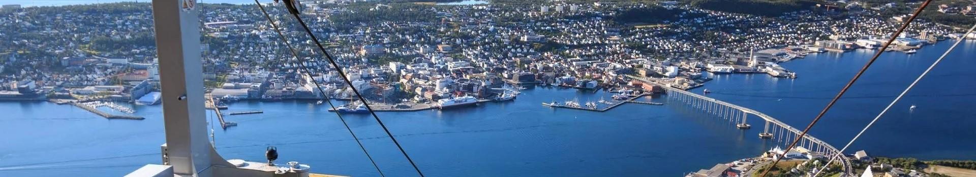 Tromsoe mit Seilbahn