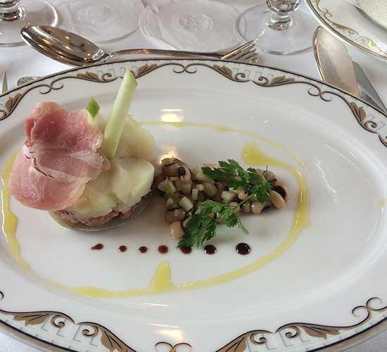 Hervorragendes Essen im Orientexpress- Lunch
