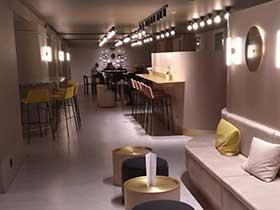 11Mit Gleisnost in Paris im Hotel Okko - Lounge