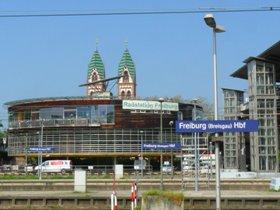 Gleisnost-Büro in der Freiburger Radstation