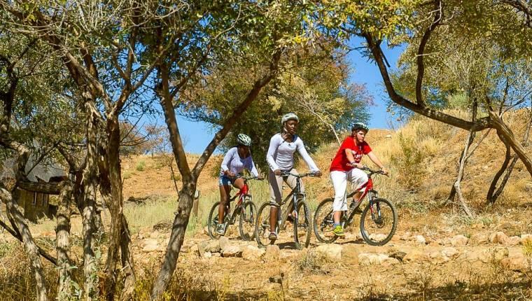 Radfahren auf Onjala