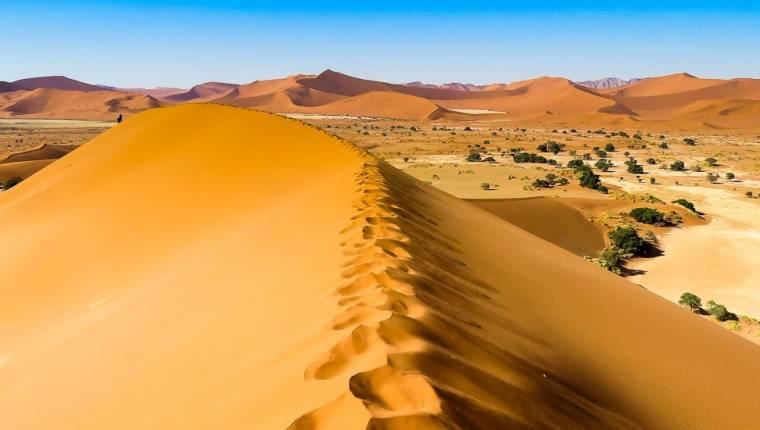 In den Dünen von Sossusvlei