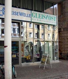 Gleisnost Büro ind er Bertoldstr. 44 von Außen Ungefähr aus dem Jahr 2000.