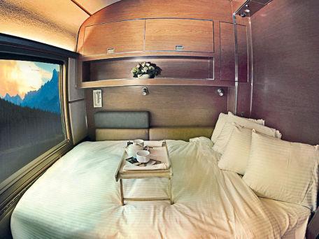 Schlafkomfort im Luxuszug Goldener Ahorn durch Kanada