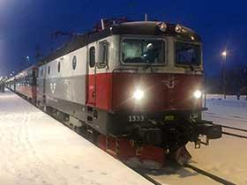 Arctic-Circle-Express der SJ in Kiruna