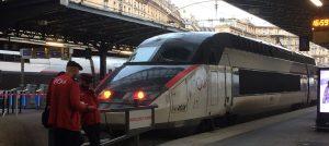 TGV inoui am Gare-de-l-Est in Paris