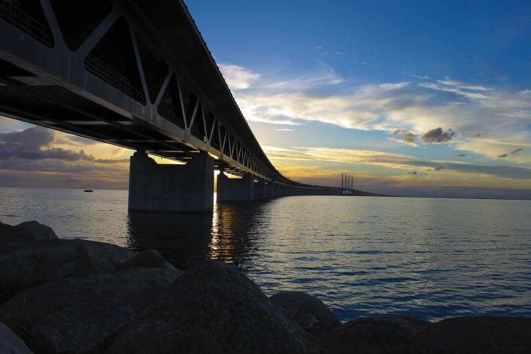Die Große Belt Brücke - Verbindung zwischen Dänemark und Schweden