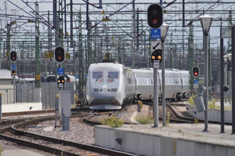 X2000 der SJ in Malmö