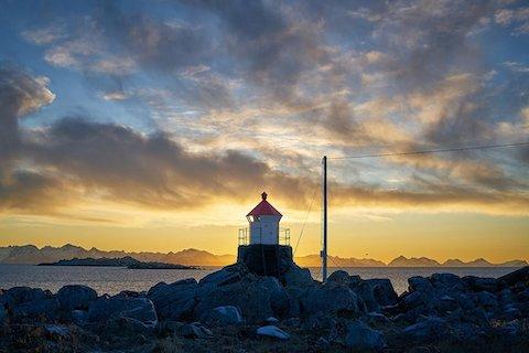 Abendstimmung - Wanderreise Norwegen