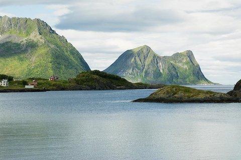 Traumhafte Küstenlandschaft Norwegens