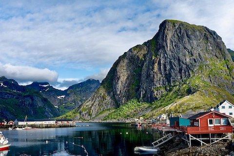 Reine und seine Fischerdörfer auf den Lofoten - Wanderreise Nordnorwegen