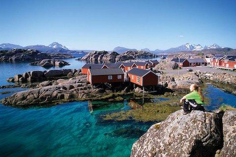 Die Fischerhütten der Lofoten - Wanderreise Nordnorwegen