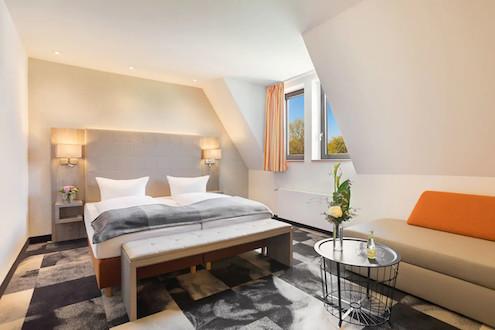 Erfurt, Doppelzimmer im Hotel Krämerbrücke