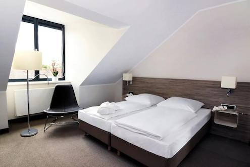 Doppelzimmer im Hotel Schweizer Hof Kassel