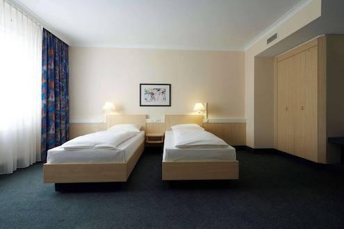 Doppelzimmer im IntercityHotel Kassel