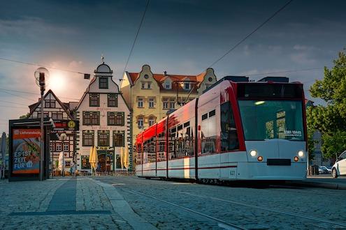 Straßenbahn Erfurt