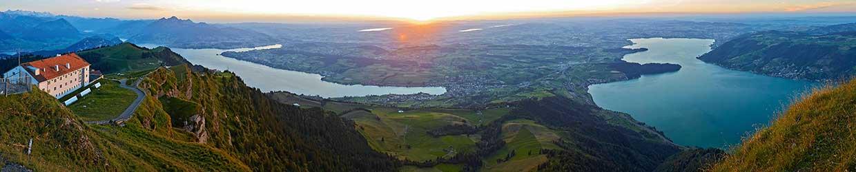 Rigi-Gipfelausblick