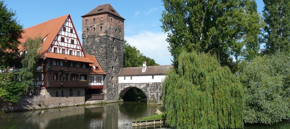 Wasserturm in Nürnberg