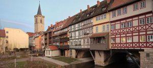 Fachwerkhäuser in der Altstadt von Erfurt