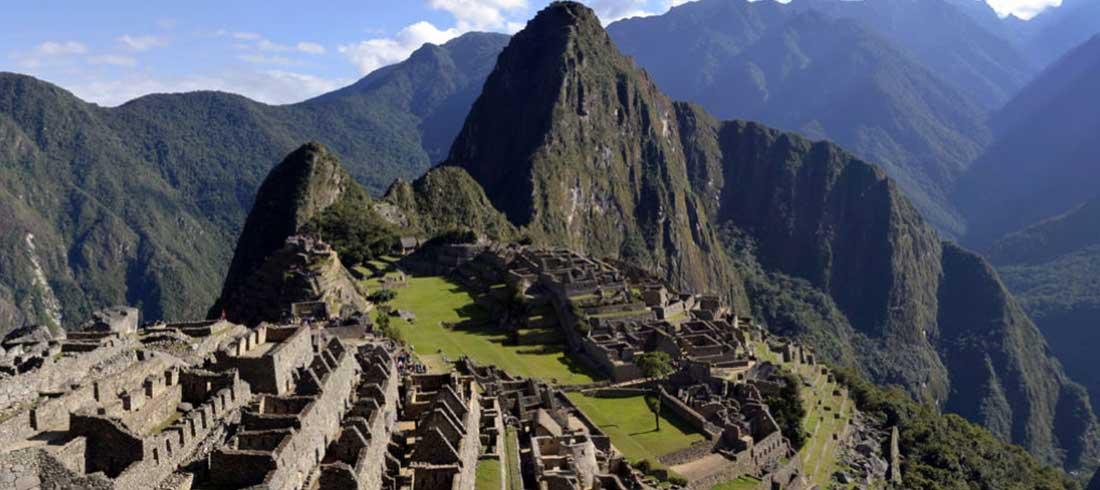 Landschaftsbild von Ameropa zur Anden Erlebniszugfahrt