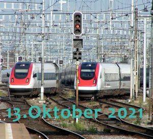 DB Züge zum Buchungsbeginn des Winterfahrplans 2021/2022